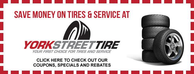 York Street Tire Savings