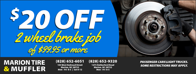 $20 Off Brake Service