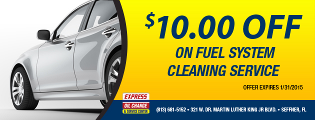 $10.00 Off Fuel System Cleaning Service