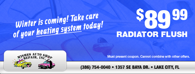 Radiator Flush Special