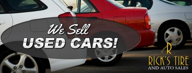We Sell Used Cars!