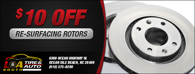 $10 Off Re-Surfacing Rotors