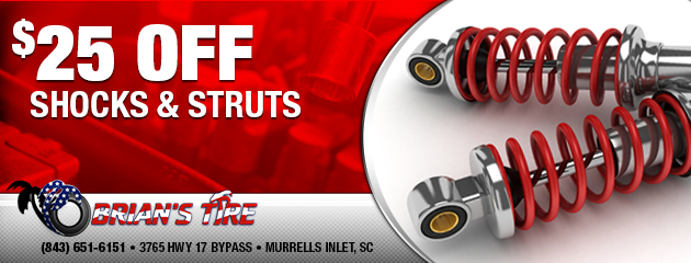 $25 Off Shocks & Struts