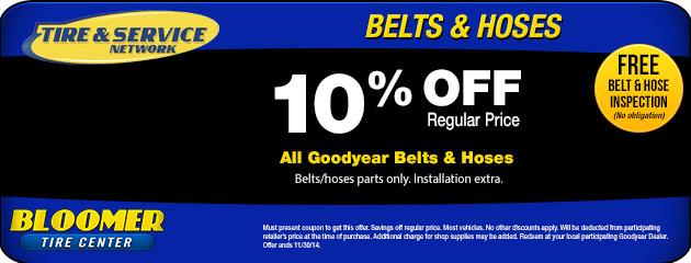 Belts & Hoses Special