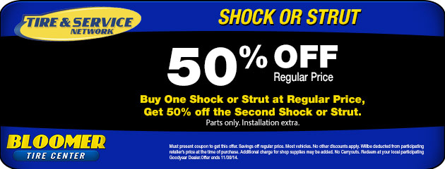 Shock or Strut Special
