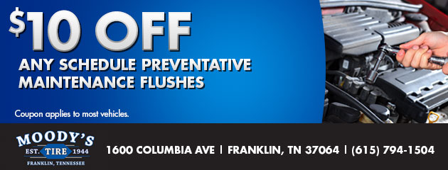 $10 Off Any Scheduled Preventative Maintenance Flushes