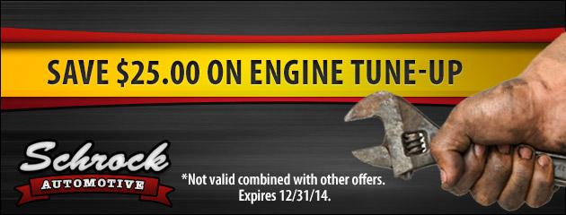 Save $25 On Engine Tune-Up