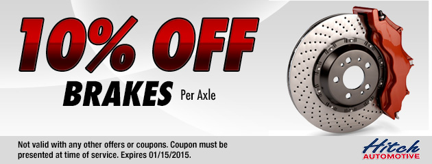10% Off Brakes