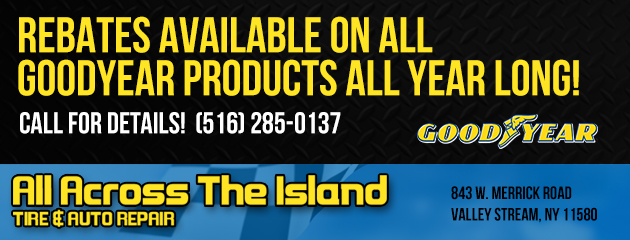 Rebates on Goodyear Products