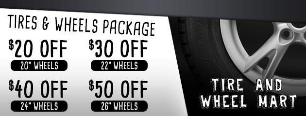 Tire & Wheel Pacakges