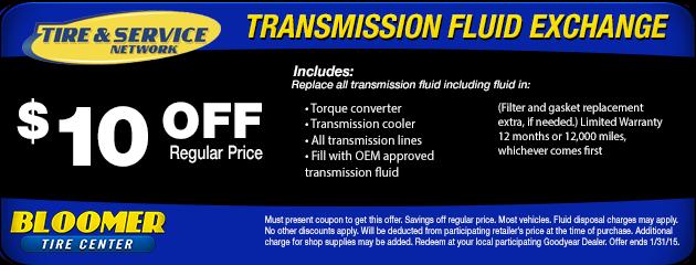 Transmission Fluid Special