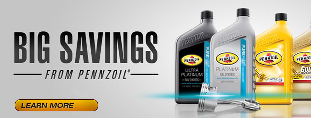 Big Savings with Pennzoil