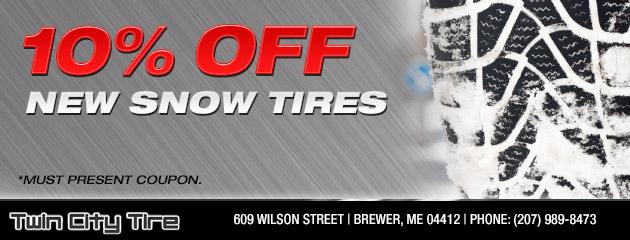 Snow Tire Special