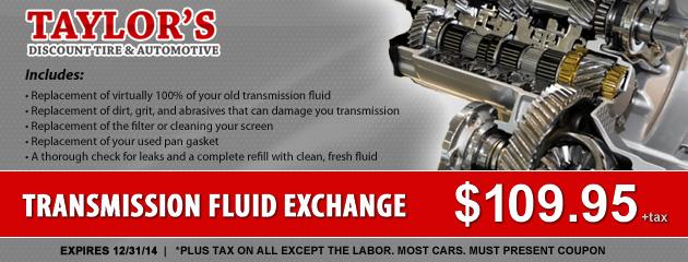 Transmission Fluid Exchange