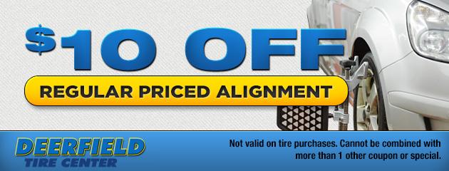 $10 Off Alignment
