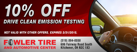 10% Off Drive Clean Emission Testing