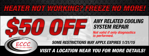 Cooling System Repair Special