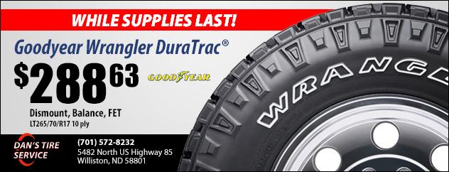 Goodyear Tire Promo