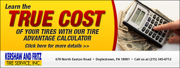 Learn the True Cost of Your Tires