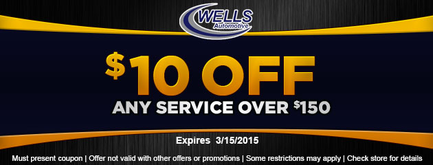$10 Off Any Service Over $150