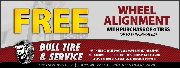 Free Wheel Alignment with Tire Purchase