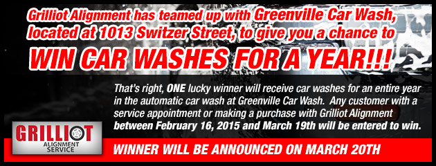 Car washes for a year!