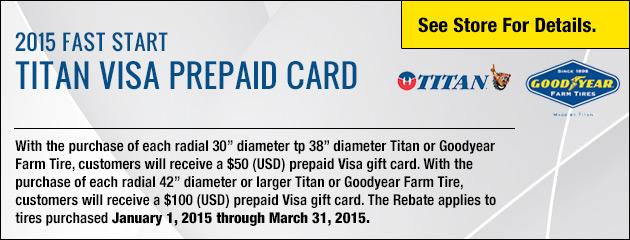 Titan Visa Prepaid Card