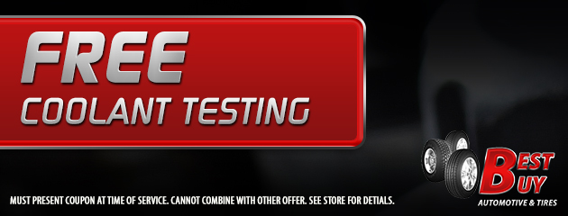 Free Coolant Testing