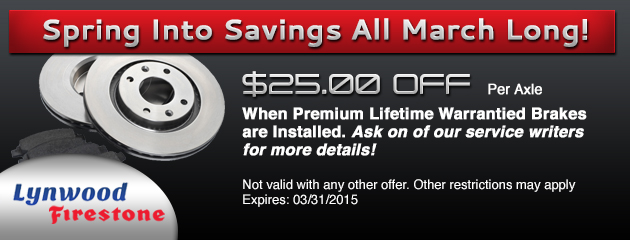 March Savings Special!