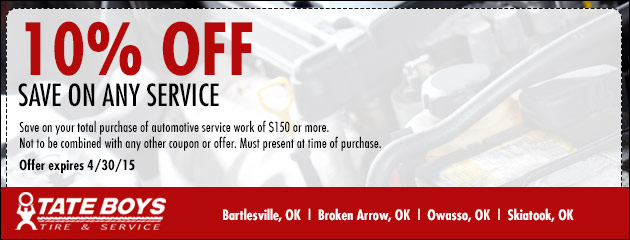 Save On Any Service - 10% off