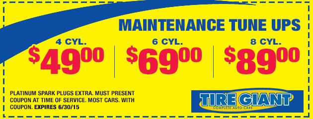 Maintenance Tune-Up
