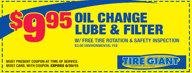 Oil, Lube, and Filter