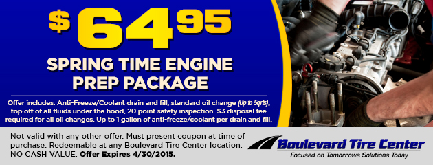 Spring Engine Prep Package