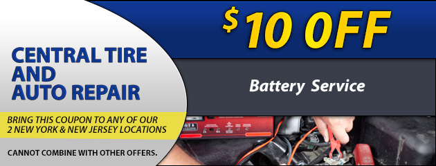 $10 Off Battery Service