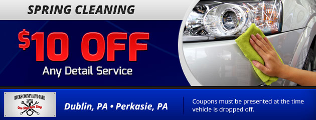 $10 Off Any Detailing Service