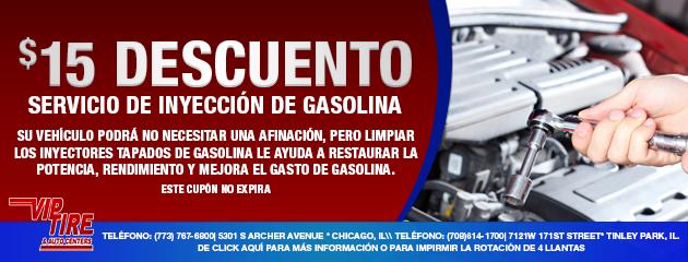 SERVICIO DE INYECCIÓN DE GASOLINA