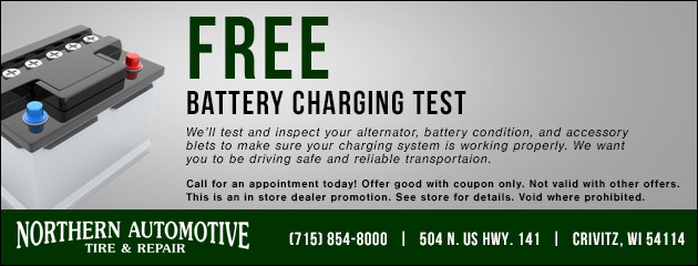 Free Battery Charging Test
