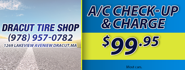 A/C Chec Up and Charge - $99.95