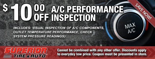 $10 Off A/C Inspection