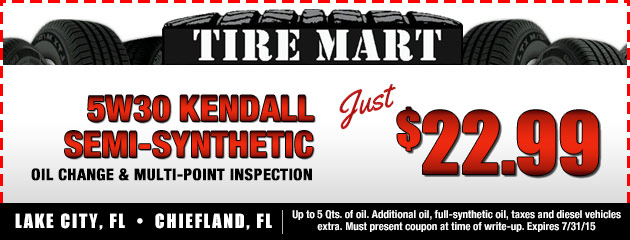 $22.99 Oil Change and Inspection Coupon