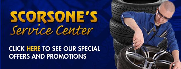Scorsones Service Center Savings
