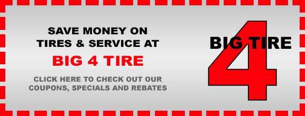 Big 4 Tire Savings
