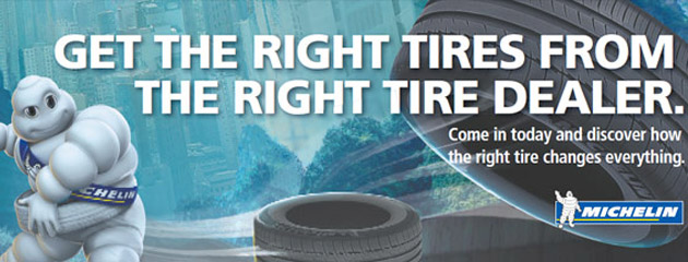 Michelin Tires at Sumter Tire