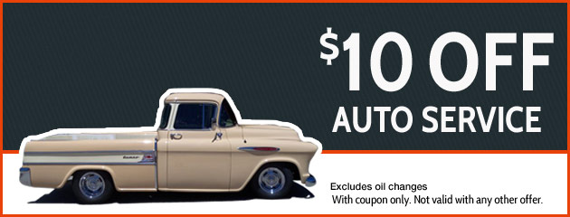 $10 off auto service