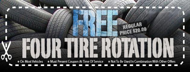 FREE Four Tire Rotation