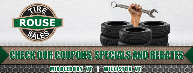 Rouse Tire Sales Savings