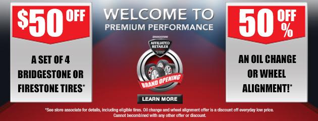 Bridgestone - Brand Opening Promotion