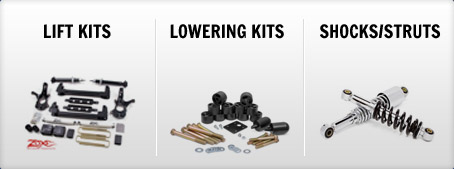 Lift Kits, Lowering Kits, Shocks and Struts
